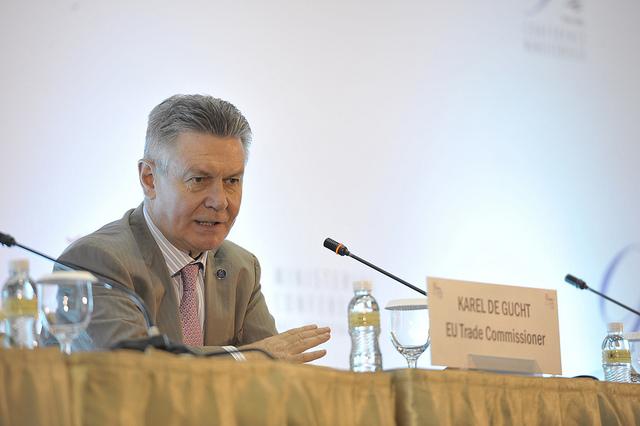 Karel de Gucht World Trade Organisation
