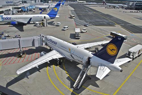 Flughafen Berlin Tegel. Quelle:flickr.com/ Mika Stetsovski  CC BY-SA 2.0 DE
